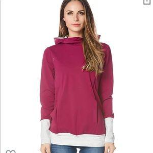 Nursing hoodie
